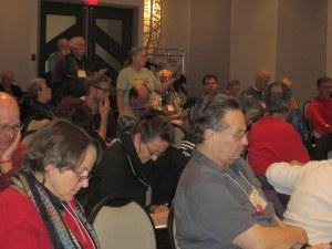 Linda Safford speaking to Raven Coal motion