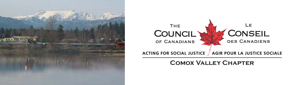 Comox Valley Council of Canadians
