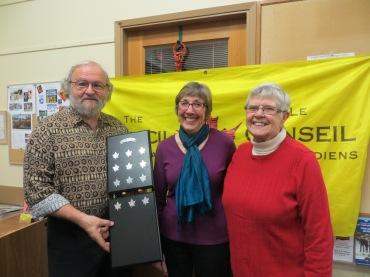 Janet Fairbanks and Wayne Bradley recipients of 2016 Community Action Award