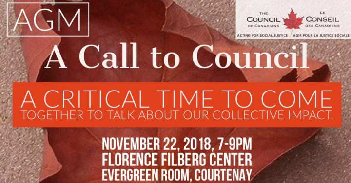 A Call to Council A Critical Time to Come Together to Talk About Our Collective Impact